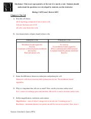 Biology 1345 Exam 2 Review KEY.pdf