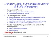 congestion-control