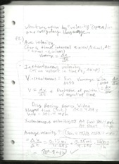 physics 1 notes #3