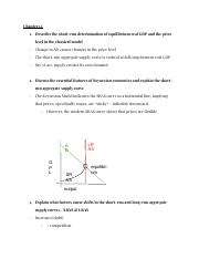 Econ Test 3 Review