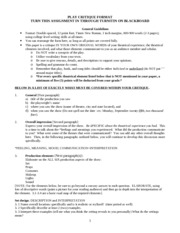 play critique college essay < term paper help play critique college essay