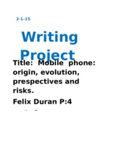 Writing Project 1-2-14
