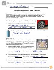 ideal_gas_law_gizmo.pdf - Name Andie Hayduk 5 4 20 Date ...