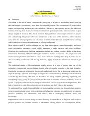 Material_Why IT_Article Summary 2.docx