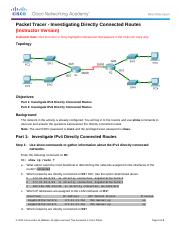 4.3.2.5 Packet Tracer - Investigating Directly Connected Routes Instructions - IG.docx