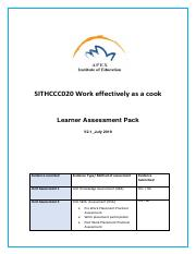 SITHCCC020 Work effectively as a cook Learner Assessment Pack V2.1 - 07_2019.pdf