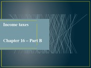 nCh16B - Income taxes(1)