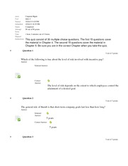 BUS409 Quiz 4 Retake