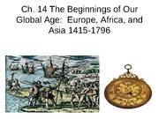 Ch 14 Beg of Global Age PPT