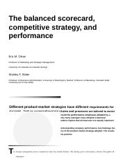 Balanced_scorecard_strategy and performance