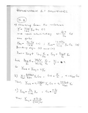 CE 345 Solutions to Homework 1