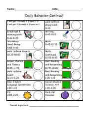 Daily Behavior w Images.pdf