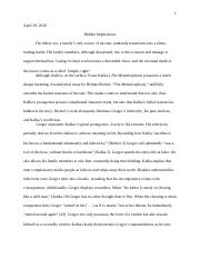 Example Thesis Statements For Essays  Pages The Metamorphosis Essaydocx Book Report Helper also Business Plan Writers Memphis Tn Metamorphosis Essaydocx  Wu  Nathan Wu Mr Goldhammer Ap  Essays About High School