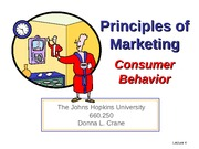 Lecture 4 Consumer Behavior for BB