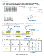 KEY_Chem 213_Spring 2014_Unit 2 Exam
