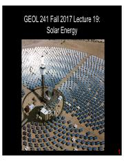 GEOL241 F2017 Lect19 -- Solar UPDATED.pdf