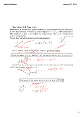 Week 1-3 Lecture on Engineering Math 1