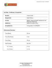 unit 8 assignment pharmacology kaplan university Question hs140: pharmacology carol lingo kaplan university unit 8 assignment applying pharmacology principles _____.