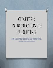 C1_introduction to budgeting