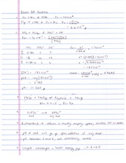 Ong 1212K Spring 2013 Exam 3A Solutions