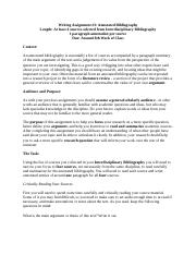 Annotated Bibliography Full Length Instructions and Grading Rubric.docx
