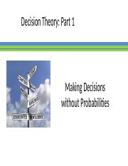 Decision Theory-Part 1.pptx