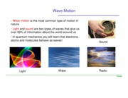 Lectures on waves