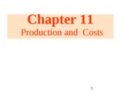 11 Production & Costs