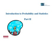 prob and stats ii