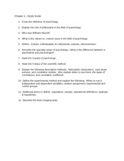 101, chapter 1, bb, revised  study guide