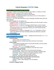 CulturalGeographyCH.5Notes