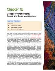 Money Banking and Financial Markets ch 12