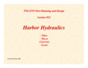 Lecture15-Harbor-Hydraulics