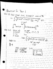 MAT 241 - Notes Review for Test 1