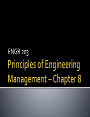 ENGR 203 Chapter 8 2015