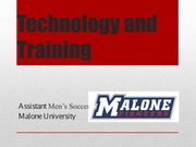 Technology and Training - Student Presentation Assignment