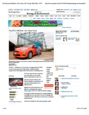 Bunkley 2012 NYTimes Payoff for Efficient Cars