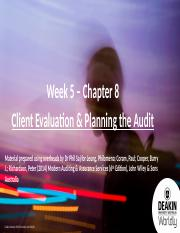 Topic 5 - Chapter 8 - Slides