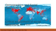 Demographics and Social Networking(1)