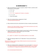 SI WORKSHEET 3 answers