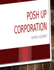 POSH UP CORPORARION REPORT.pptx