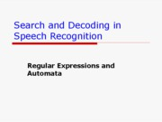 Ch1-Regular Expressions and Automata