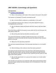 Unit 07 Lab Questions Criminology.doc