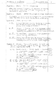 Midterm 1 Spring 10 Solutions 2