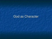 Lecture 15 God.Character.rev2[1]
