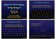 MIN12FAL_03_Internal Symmetry_Space Groups_Handout
