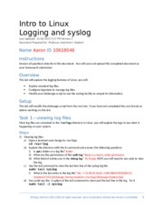 IT1510 Lab-Logging and Syslog.docx