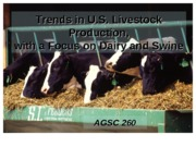 Farm-livestock trends in class