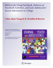 Yang-Brown-2013-FB-motives-activs-and-college-adj