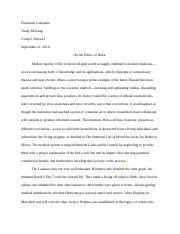 The Immortal Life of Henrietta Lacks Summer Essay.docx